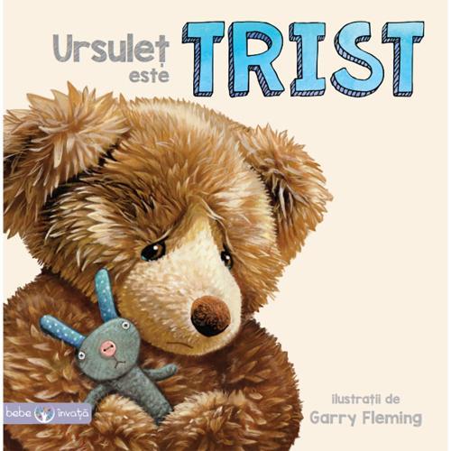Carte Editura Litera - Ursulet este trist - Carti pentru copii -