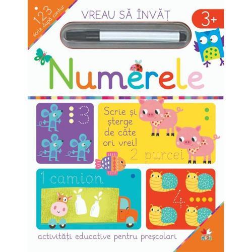 Carte Editura Litera - Vreau sa invat - Numerele - Carti pentru copii -