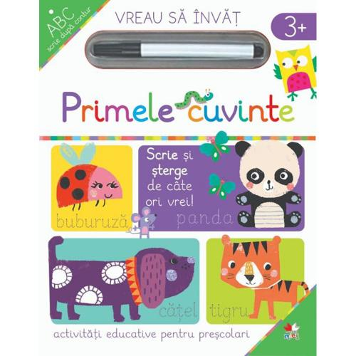 Carte Editura Litera - Vreau sa invat - Primele cuvinte - Carti pentru copii -