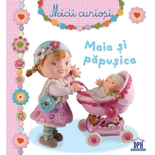 Carte Maia si papusica - Editura DPH - Carti pentru copii -