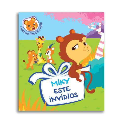 Carte Miky este invidios - Editura DPH - Carti pentru copii -