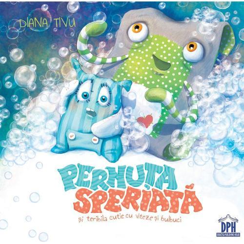 Carte Pernuta speriata si teribila cutie cu viteze si bulbuci - Editura DPH - Carti pentru copii -