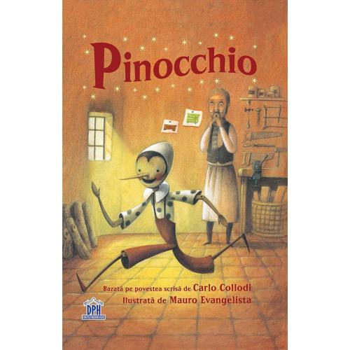 Carte Pinocchio - Editura DPH - Carti pentru copii -