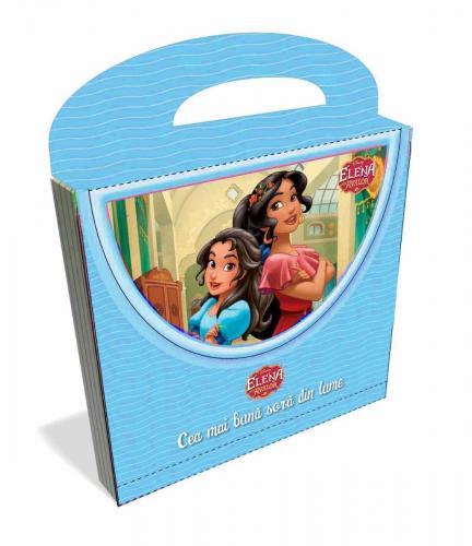 Carticica 3D tip poseta cu Elena din Avalor - Disney - Carti pentru copii -
