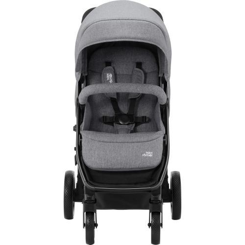 Carucior B-Agile 4 M Elephant grey- Britax - La plimbare - Carucioare standard
