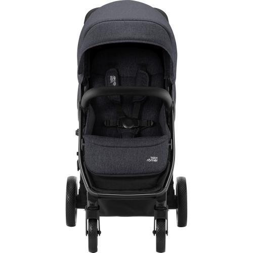Carucior B-Agile 4 R Black Shadow black Britax - La plimbare - Carucioare standard