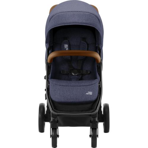 Carucior B-Agile 4 R Black Shadow Brown Britax - La plimbare - Carucioare standard