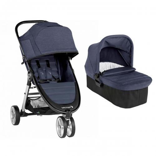 Carucior Baby Jogger City Mini 2 Carbon - Sistem 2 In 1 - La plimbare -