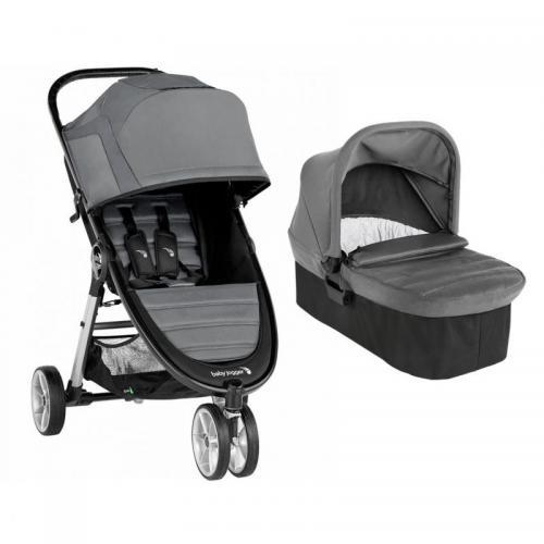 Carucior Baby Jogger City Mini 2 Slate - Sistem 2 In 1 - La plimbare -
