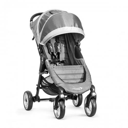 Carucior Baby Jogger City Mini 4 - Steel Grey - Sand - La plimbare -