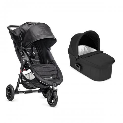 Carucior Baby Jogger City Mini Gt - Black - Sistem 2 In 1 - La plimbare -