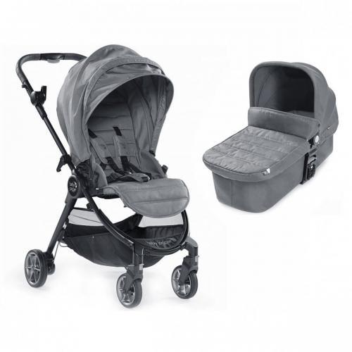 Carucior Baby Jogger City Tour Lux Slate - Sistem 2 In 1 - La plimbare -