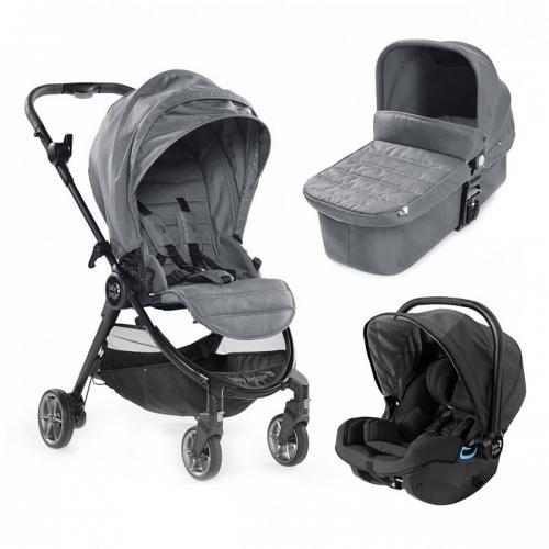 Carucior Baby Jogger City Tour Lux - Slate - Sistem 3 In 1 - La plimbare -