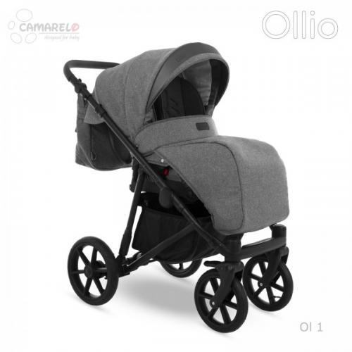 Carucior copii 2 in 1 Ollio Camarelo Ol-1 - La plimbare - Carucioare 2 in 1