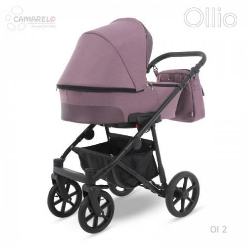 Carucior copii 2 in 1 Ollio Camarelo Ol-2 - La plimbare - Carucioare 2 in 1