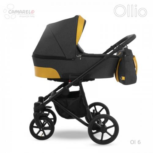 Carucior copii 2 in 1 Ollio Camarelo Ol-6 - La plimbare - Carucioare 2 in 1