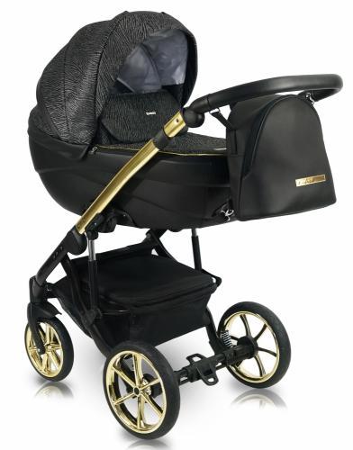 Carucior copii 3 in 1 Bexa Ideal 2020 Gold - La plimbare - Carucioare 3 in 1