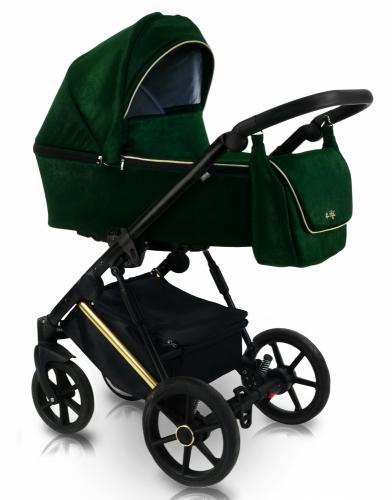 Carucior copii 3 in 1 Bexa Ultra Style V Emerald - La plimbare - Carucioare 3 in 1
