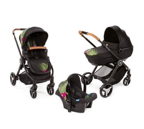 Carucior copii 3 in 1 Chicco Best Friend Comfort Optical Jungle 0luni+ - La plimbare - Carucioare 3 in 1
