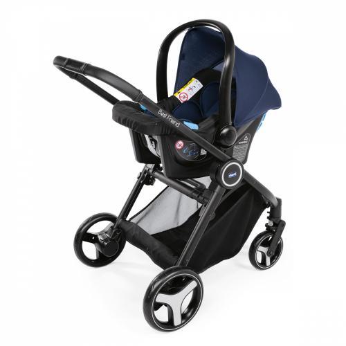 Carucior copii 3 in 1 Chicco Best Friend+ Comfort Oxford Albastru 0luni+ - La plimbare - Carucioare 3 in 1
