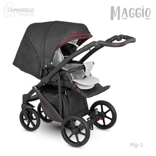 Carucior copii 3 in 1 Maggio Camarelo color 1 - La plimbare - Carucioare 3 in 1
