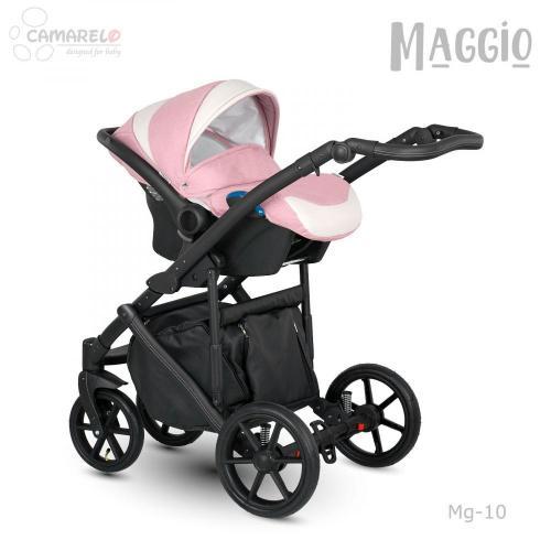 Carucior copii 3 in 1 Maggio Camarelo color 10 - La plimbare - Carucioare 3 in 1