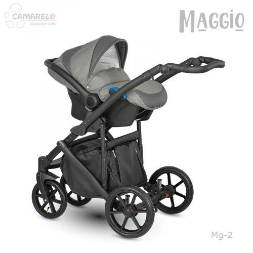 Carucior copii 3 in 1 Maggio Camarelo color 2 - La plimbare - Carucioare 3 in 1