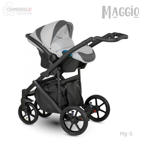 Carucior copii 3 in 1 Maggio Camarelo color 5 - La plimbare - Carucioare 3 in 1