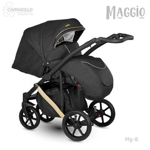 Carucior copii 3 in 1 Maggio Camarelo color 8 - La plimbare - Carucioare 3 in 1