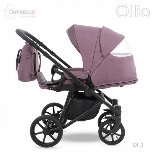 Carucior copii 3 in 1 Ollio Camarelo Ol-2 - La plimbare - Carucioare 3 in 1