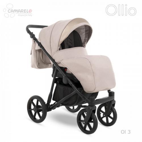 Carucior copii 3 in 1 Ollio Camarelo Ol-3 - La plimbare - Carucioare 3 in 1