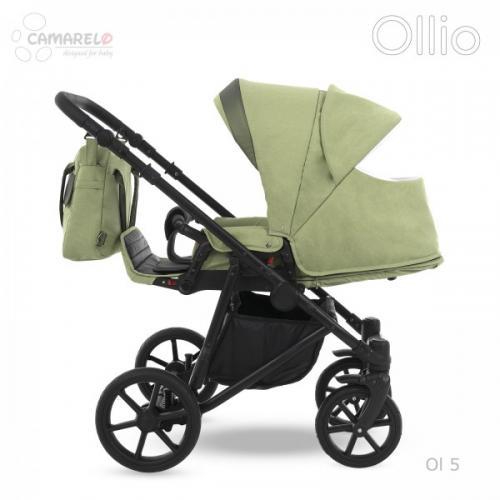 Carucior copii 3 in 1 Ollio Camarelo Ol-5 - La plimbare - Carucioare 3 in 1