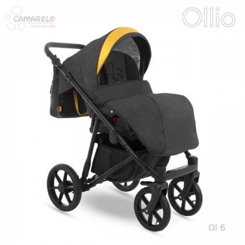 Carucior copii 3 in 1 Ollio Camarelo Ol-6 - La plimbare - Carucioare 3 in 1