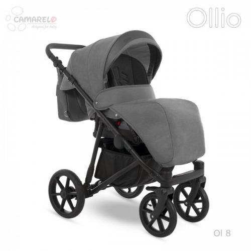 Carucior copii 3 in 1 Ollio Camarelo Ol-8 - La plimbare - Carucioare 3 in 1