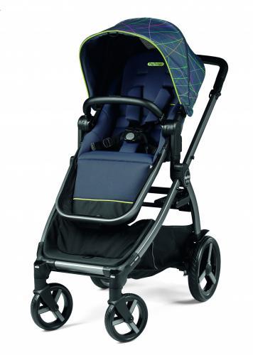 Carucior Peg Perego Ypsi 6 luni - 22 kg New Life Bleumarin - La plimbare - Carucioare reversibile