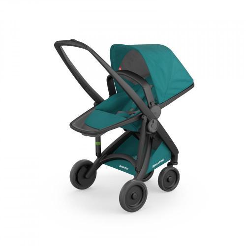 Carucior Reversible 100 Ecologic Black Teal - La plimbare - Carucioare reversibile
