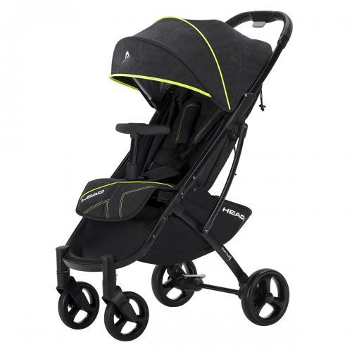 Carucior Sport Knorr Baby - model Head Gri - Galben - La plimbare -