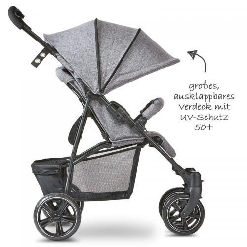 Carucior Treviso 4 Woven-grey Circle ABC Design 2020 - La plimbare - Carucioare sport
