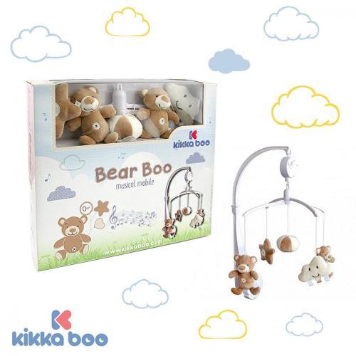Carusel muzical Kikkaboo Bear - Camera copilului - Carusele muzicale