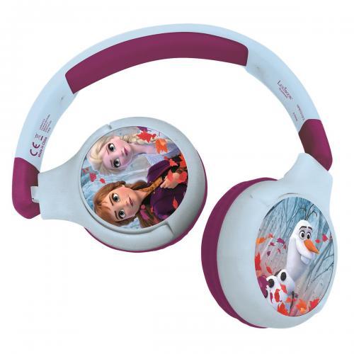 Casti pliabile 2 in 1 Lexibook - Disney Frozen - Jack 35 mm - Bluetooth - Jucarii interactive -