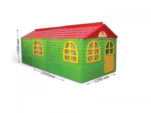 Casuta de joaca 0255023 GreenRed Big - Casute pentru copii -