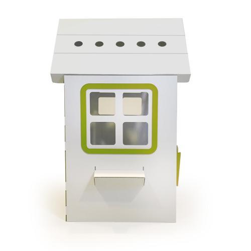 Casuta din carton Prima Casa Green - Casute pentru copii -