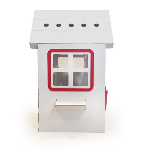 Casuta din carton Prima Casa Red - Casute pentru copii -