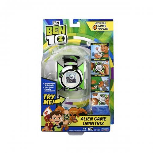 Ceas Ben 10 Alien Game Omnitrix LCD - Jucarii interactive -