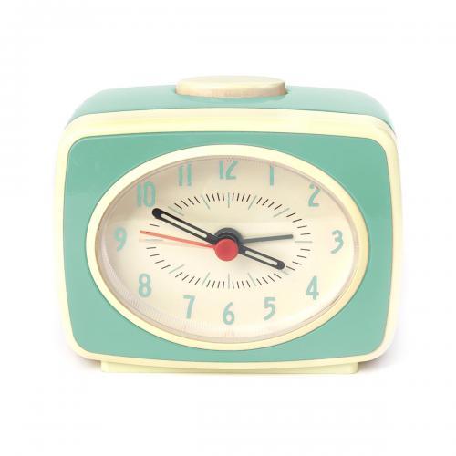 Ceas cu alarma Retro - Quartz - Noriel Impulse - Verde - Home deco -
