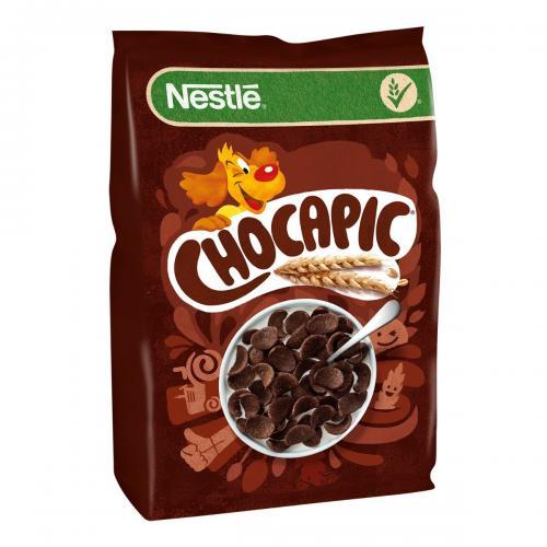 Cereale pentru mic dejun Nestle Chocapic - 500 g - Alimentatia bebelusului -