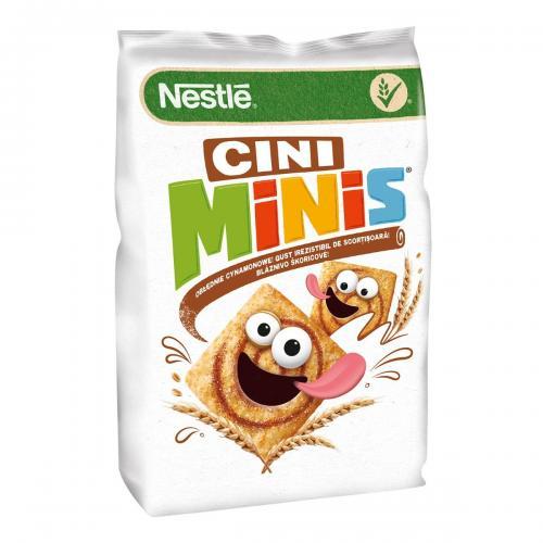 Cereale pentru mic dejun Nestle Cini Minis - 500 g - Alimentatia bebelusului -