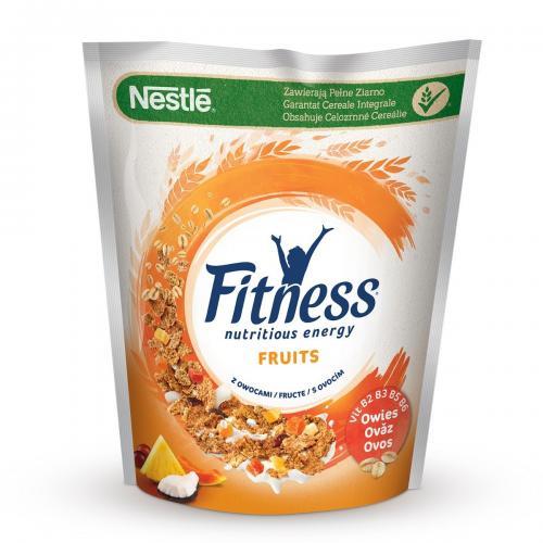 Cereale pentru mic dejun Nestle Fitness Fruits - 425 g - Alimentatia bebelusului -