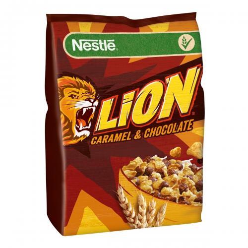 Cereale pentru mic dejun Nestle Lion - 500 g - Alimentatia bebelusului -