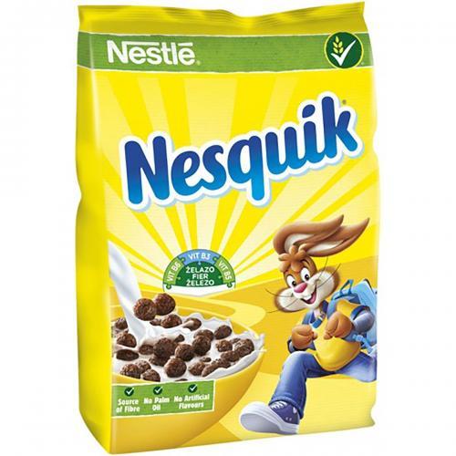 Cereale pentru mic dejun Nestle Nesquik - 500 g - Alimentatia bebelusului -